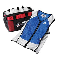 TechNiche 4531 Hybrid Cooling Vest with bag